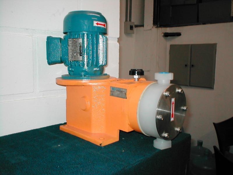 Fábrica de bombas dosadoras de diafragma