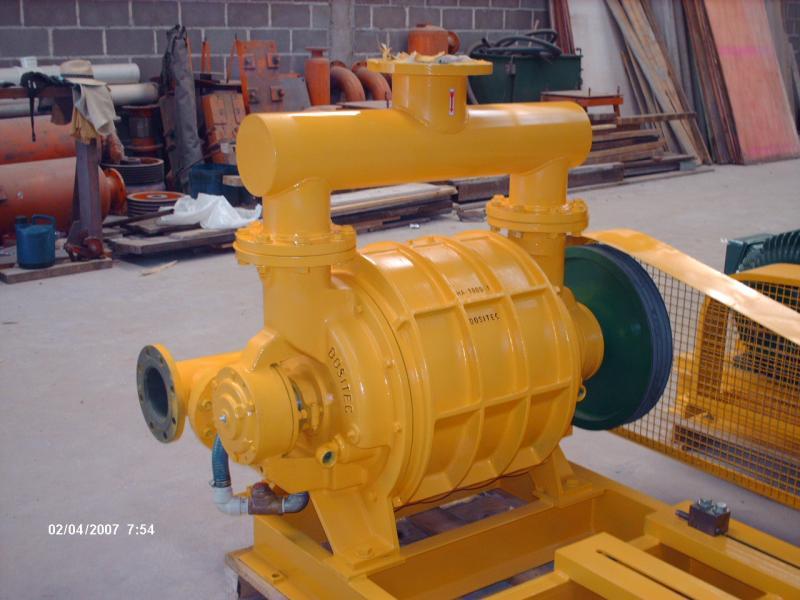 Fabricação bomba de vácuo para usinas