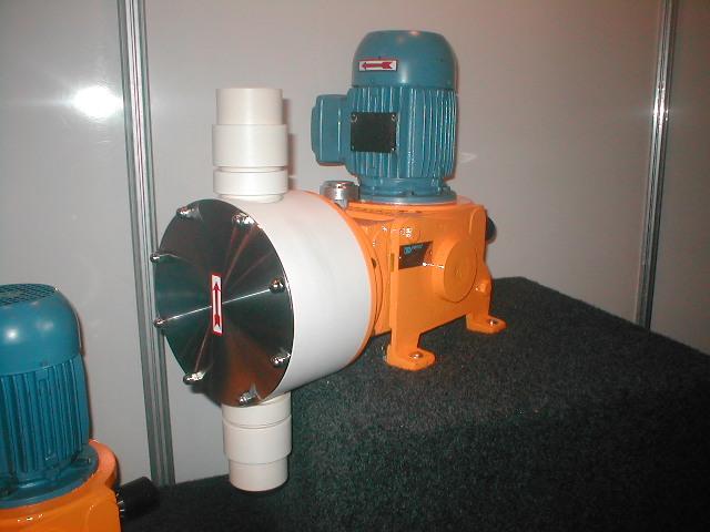 Fabricação de bombas dosadoras de diafragma